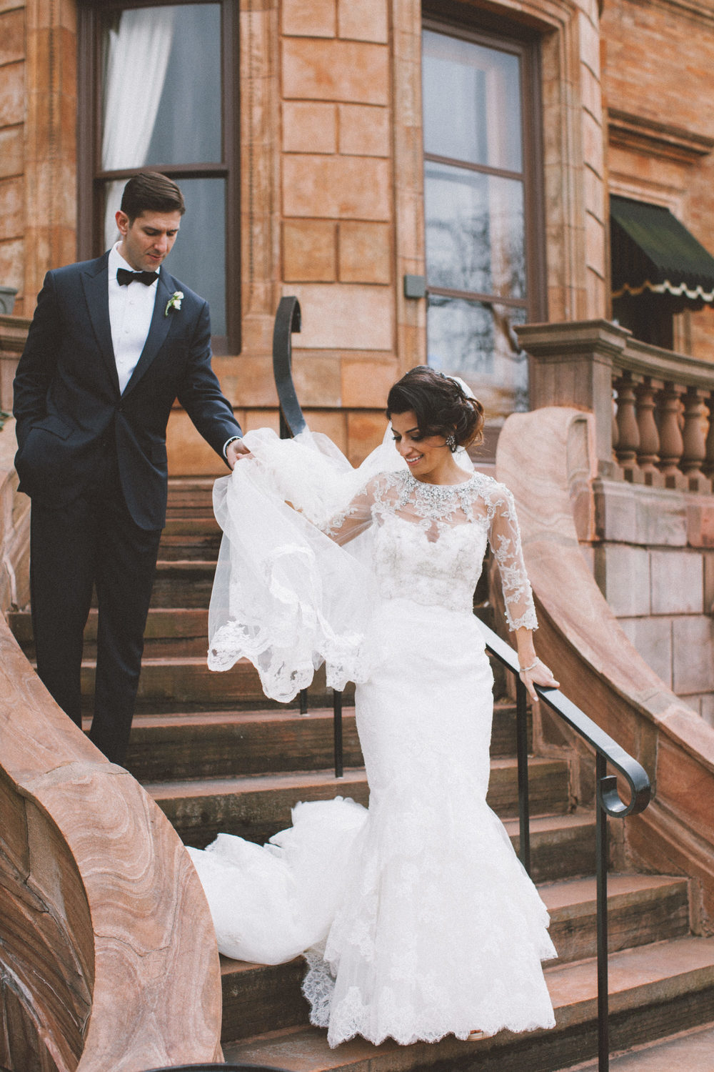 Canadian Club Brand Centre Wedding, Ontario wedding photographer Nikki Mills - Enzoani Gown