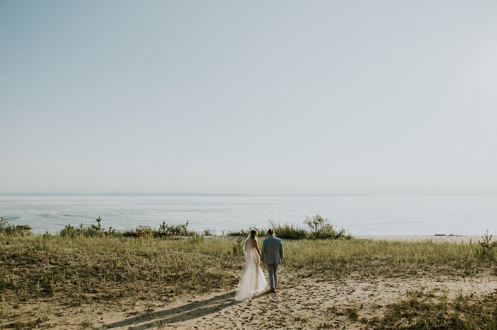 georgian bay wedding photographer