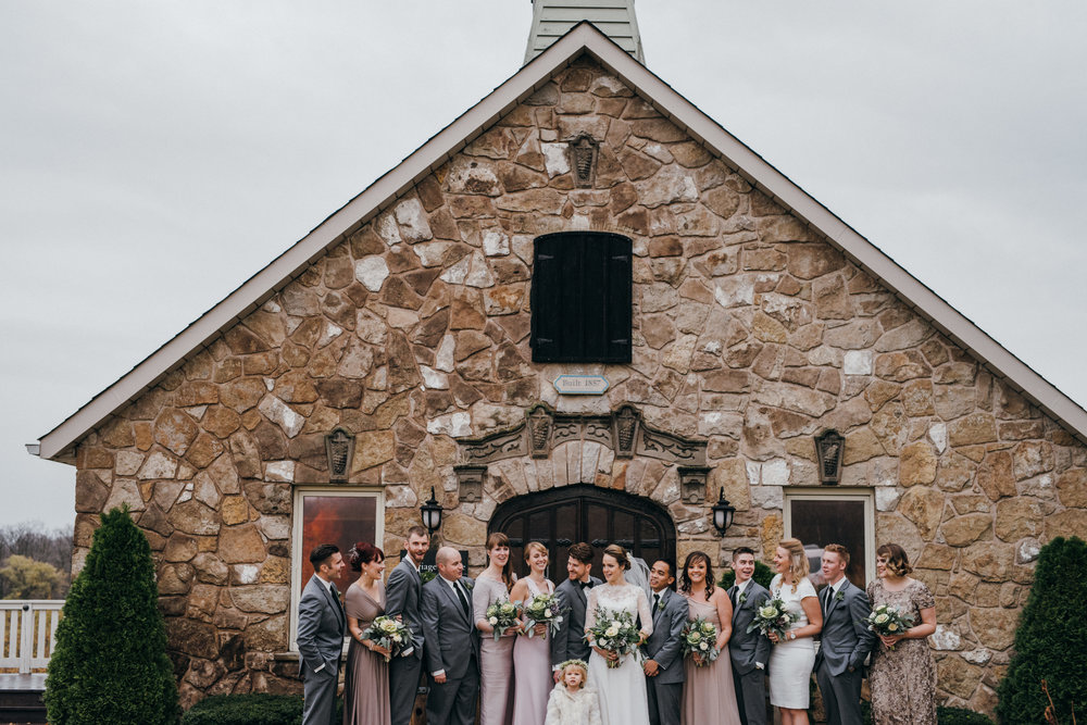 Vineland Estate Winery Wedding Nikki Mills