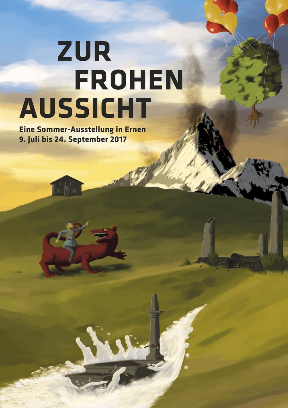 DER FLYER - GRAFIK UND ILLUSTRATIONEN:CURDIN ALBIN