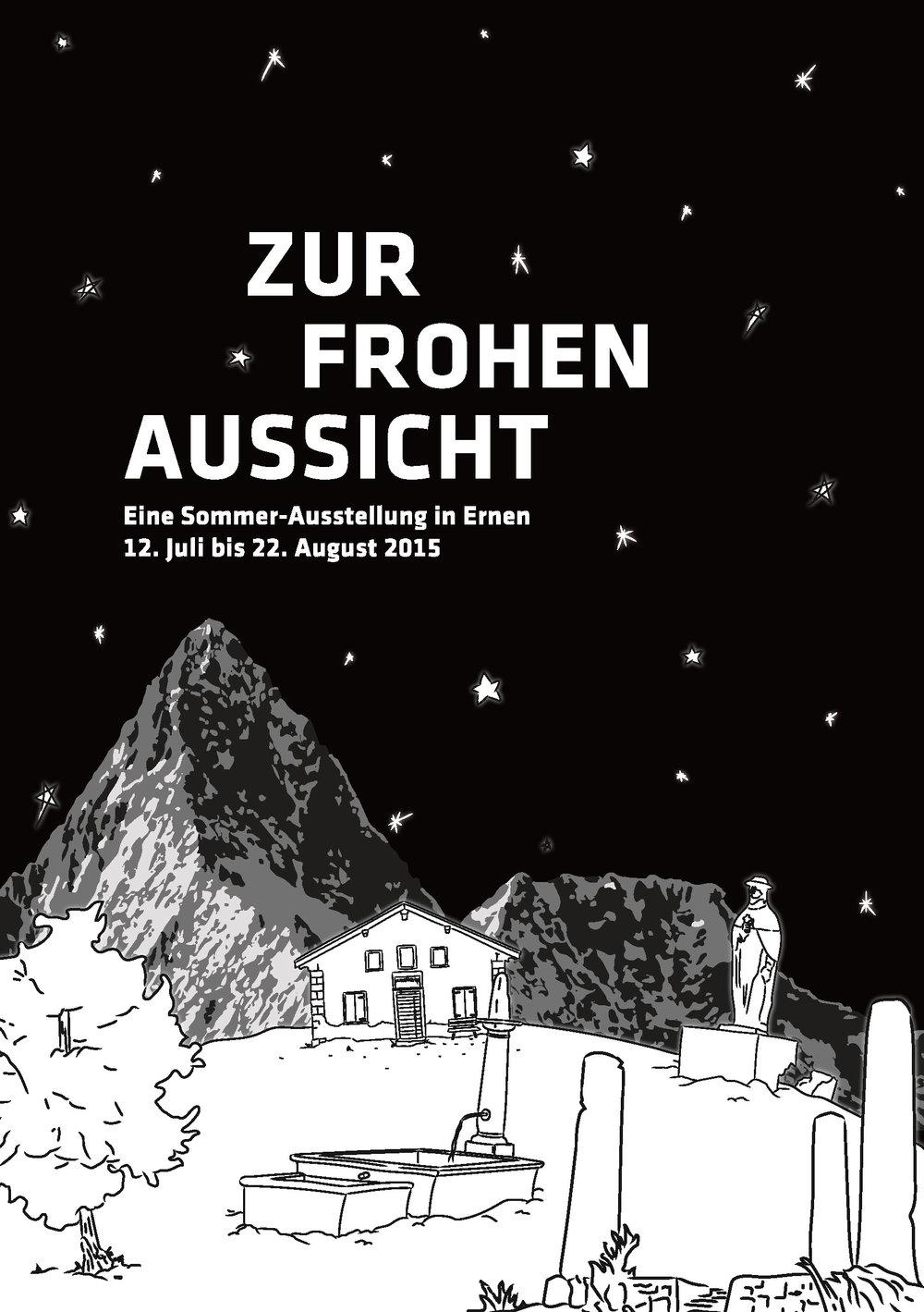 Publikation 2015 - Zur Ausstellung 2015 ist eine Broschüre erschienen. Mit Essays von Daniela Janser (Publizistin und Kulturwissenschaftlerin) und Willi Wottreng (Publizist) und Kurztexten zu den ausgestellten Werken von Josiane Imhasly.Die Broschüre kann für Fr. 5.– plus Versandkosten bestellt werden.