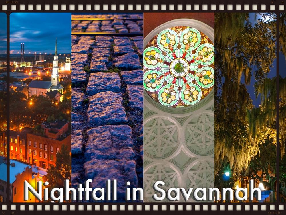Nightfall in Savannah