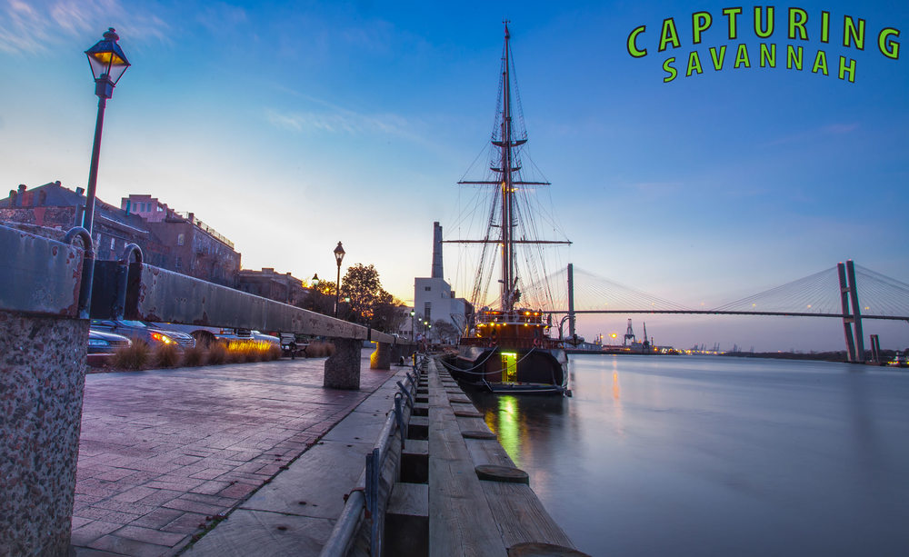 CapturingSavannah_PhotographyTours_SavannahGeorgia_WalkingTours_HistoricalTours_TourCompany_SunsetontheRiver