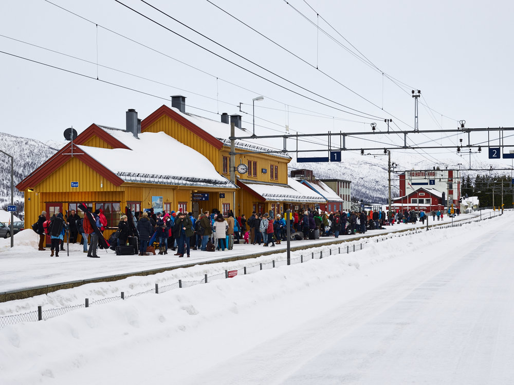 Geilo Train Station