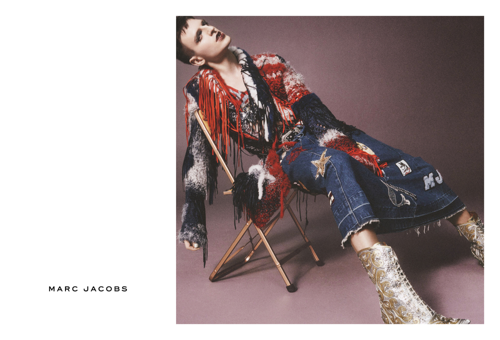 Milk stars in Marc Jacobs SS16 Campaign shot by David Sims