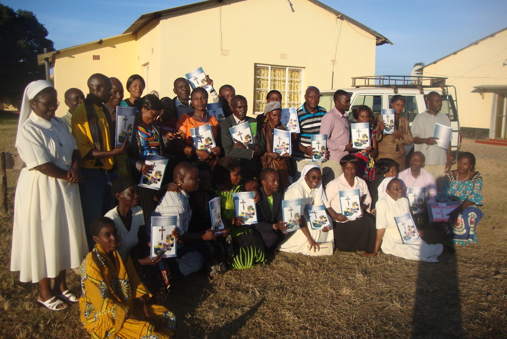 Mansa Diocese trained couples.JPG
