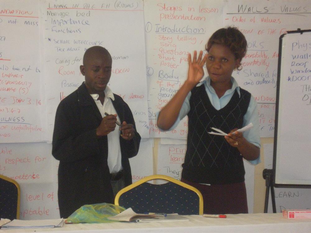 Youngest Couple Facilitator - Mansa Diocese.JPG