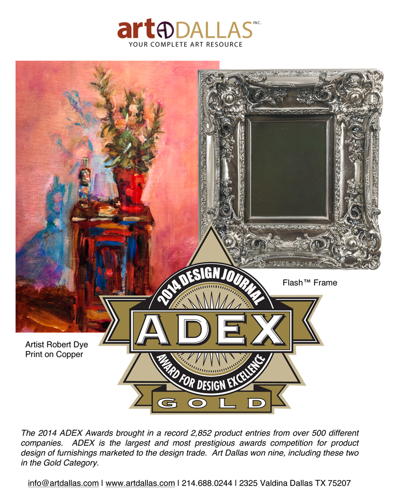 ADEX Award GOLD Tear Sheet