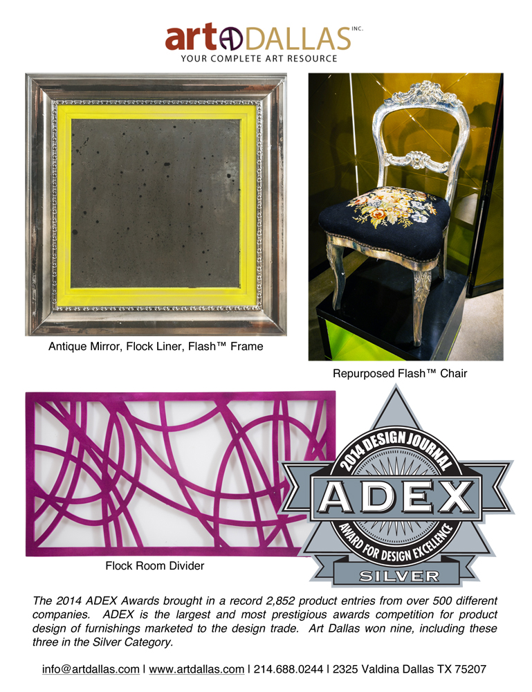 ADEX Award SILVER Tear Sheet