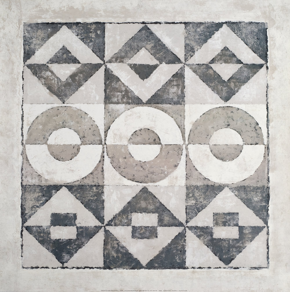 24 x 24 original on paper
