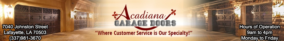 acadiana garage doorsGarage Doors of Lafayette Home Page