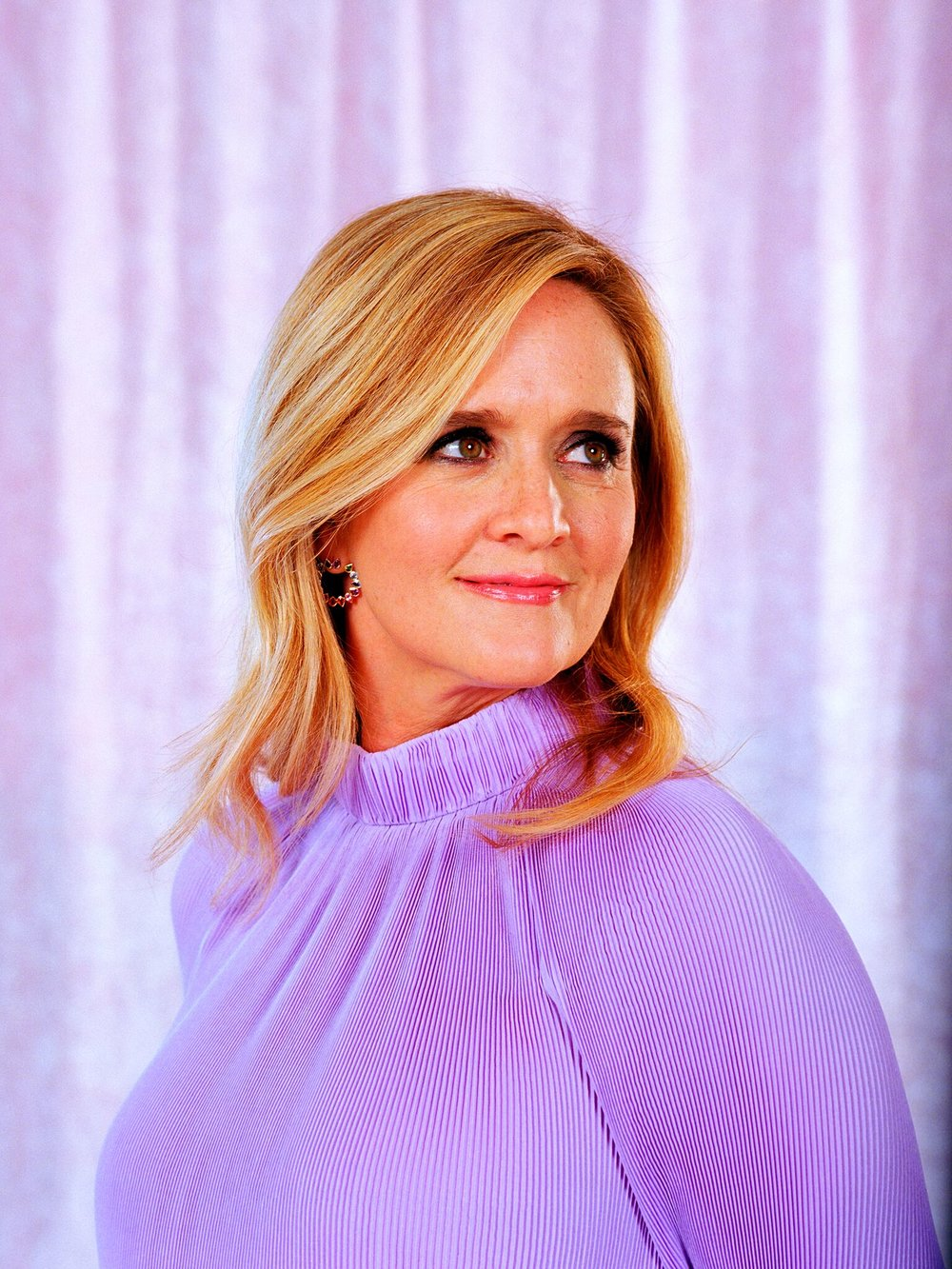 Samantha Bee  Portrait by Parker Day