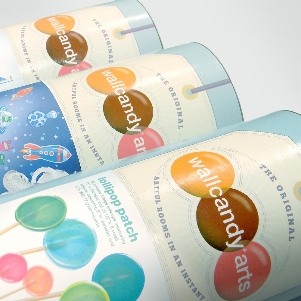 studio  incwallcandy arts packaging - wca tubes detail