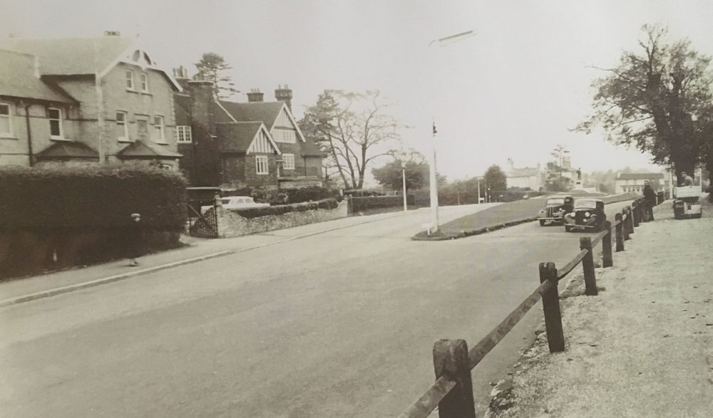Uplands House in 1960