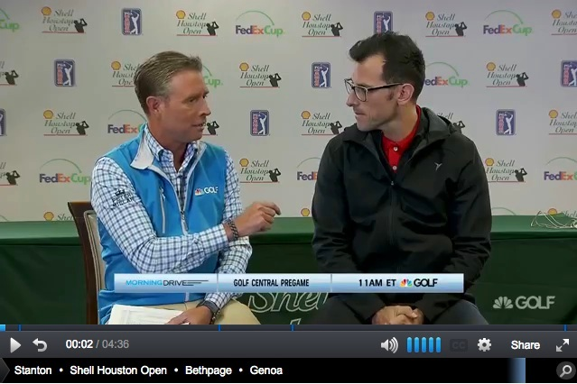 The Sharpstown Project featured on The Golf Channel