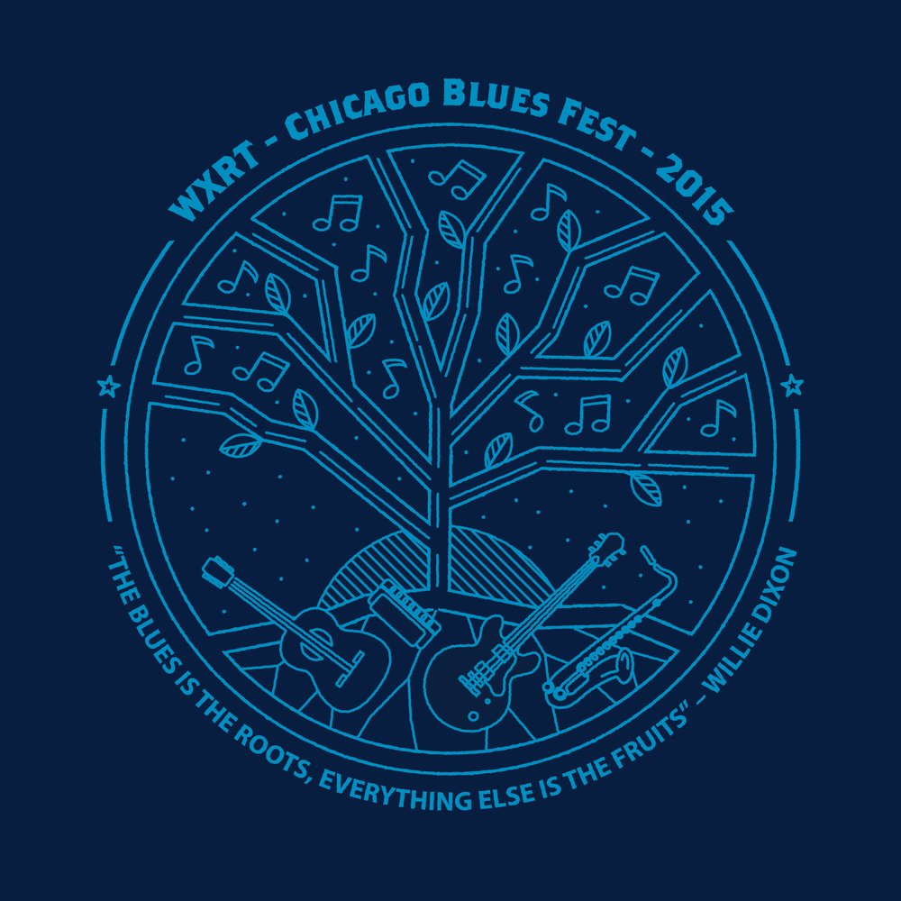 CHICAGO BLUES FEST T-SHIRT