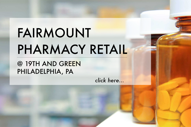 Fairmount Pharmacy Retail is proud to serve residents, Doctors and Denists of the Fairmount and Art Museum Areas.      READ MORE