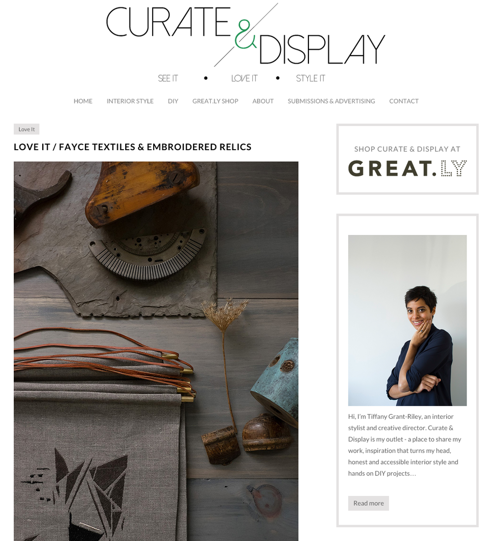 Curate & Display
