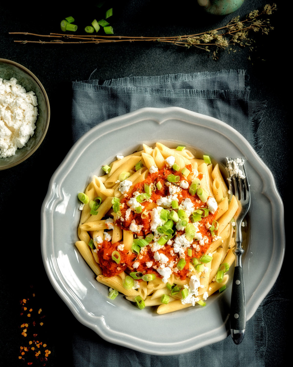 Pasta with tomatoe sauce and green onions-081-Edit-2-Edit-Edit-2.JPG
