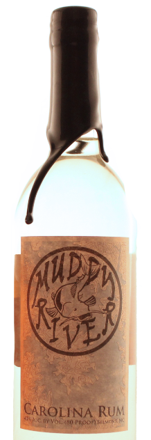 Carolina Rum is Muddy River's first product. Launched in September 2012.