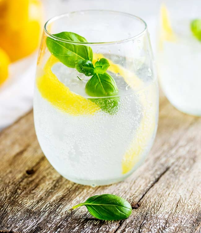 Basil Mojito - Ingredients: Muddy River Basil Carolina Rum, club soda, lemons2 oz Muddy River Basil Carolina RumSqueeze 1/2 a lemon into glassFill glass with iceTop with club sodaOptional: garnish with basil and or add strawberries to make it fancy
