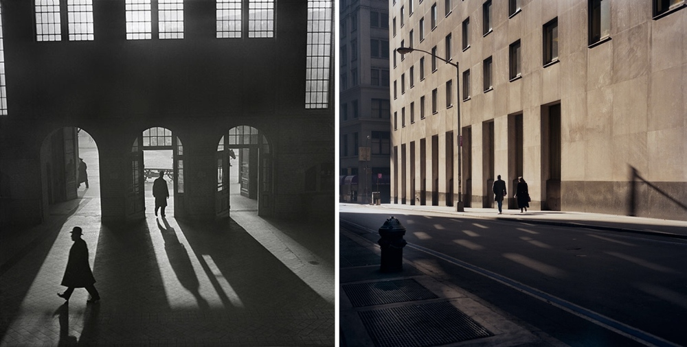 Left: Roman Vishniac, Right: Janet Delaney