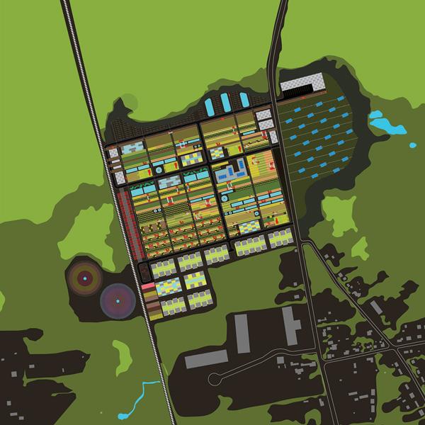 Agroland site plan