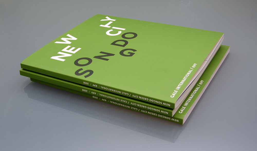 Book design for KPF New Songo City: Green Book