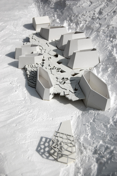 Model for an academy in New Haven