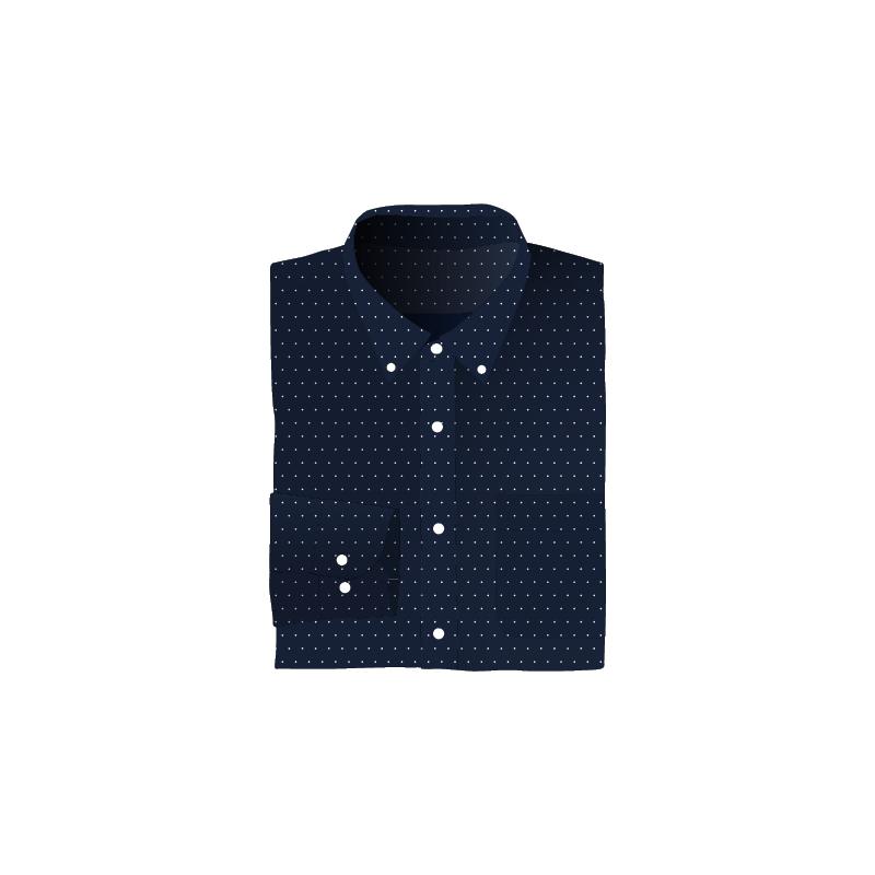 Uniqlo Polka Dot Shirt