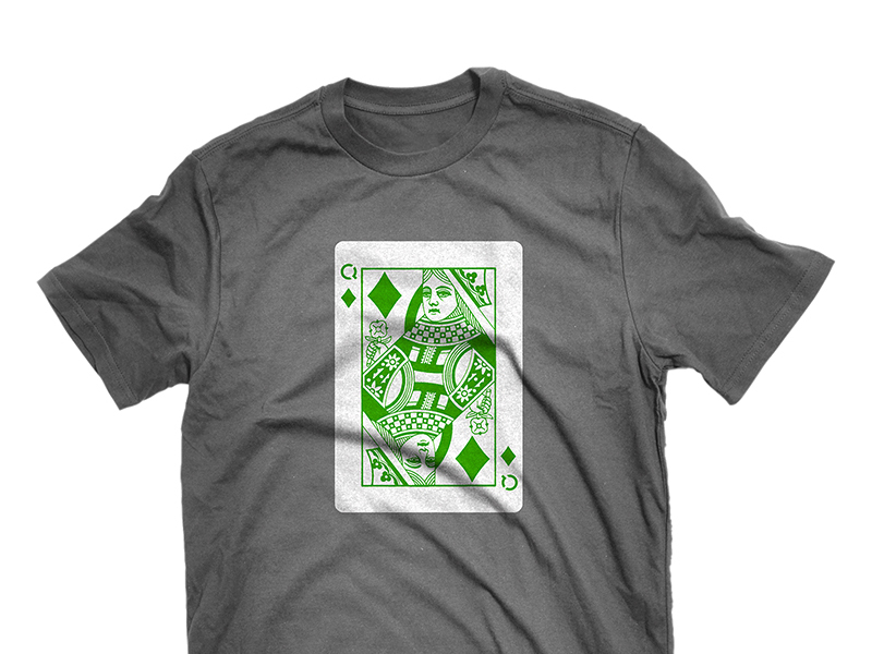 C4Q Queen of Diamonds t-shirt design