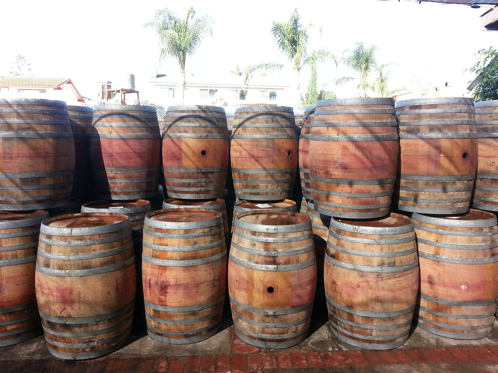 Wine or Whiskey Barrels