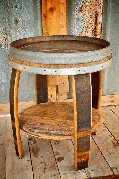Queen Crown End Table - Queen Crown End Table — King Barrel