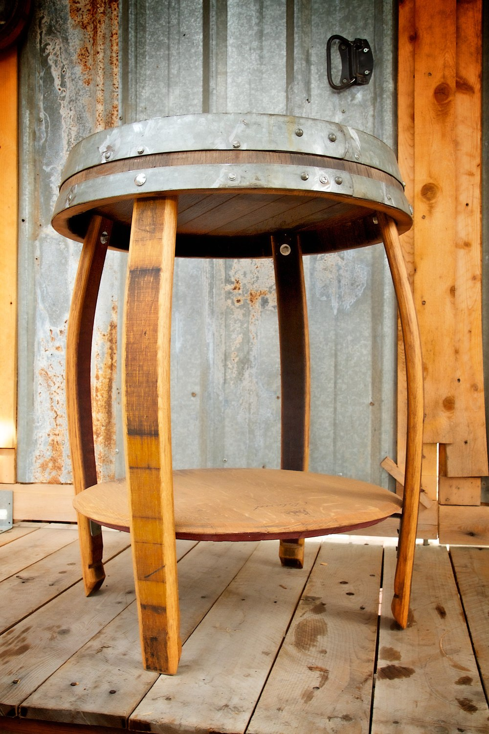 King Crown End Table