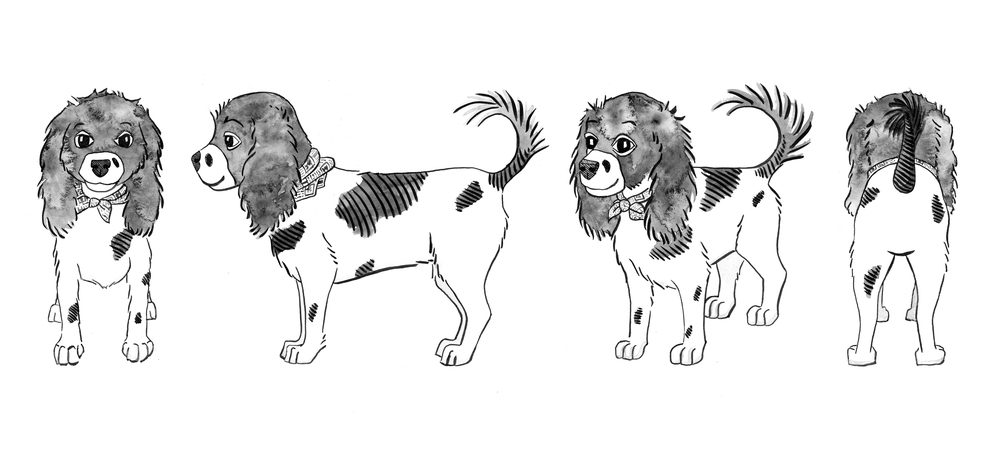 Cockalier-dog-Illustration