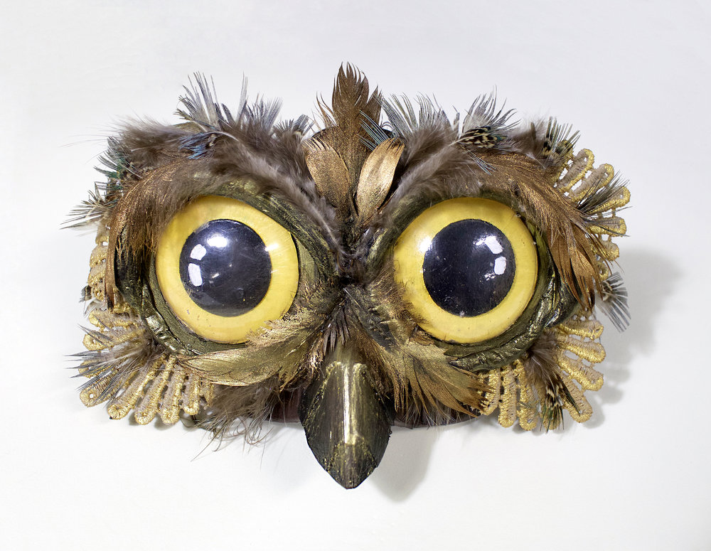 Homemade Owl Mask