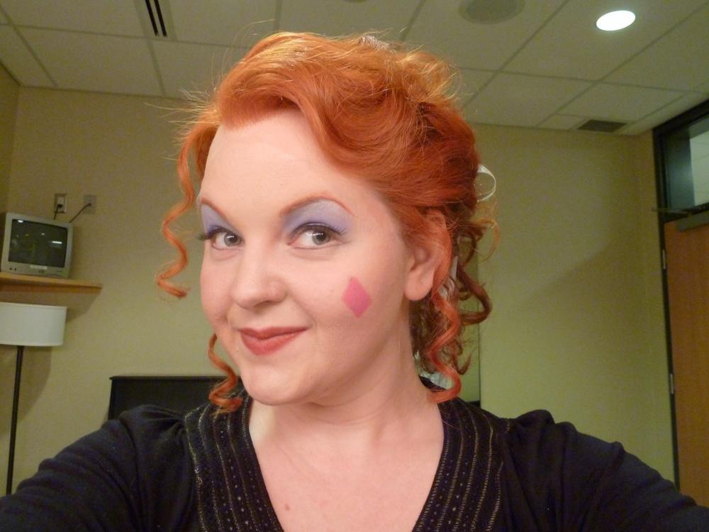Backstage as Cenerentola!
