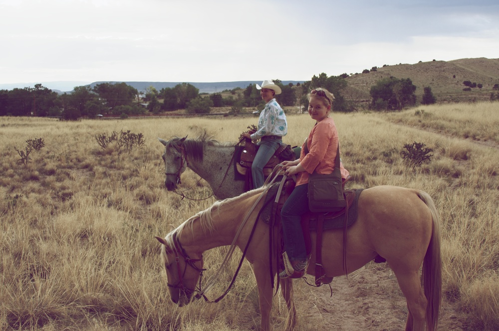 Horseback Riding at Black Mesa