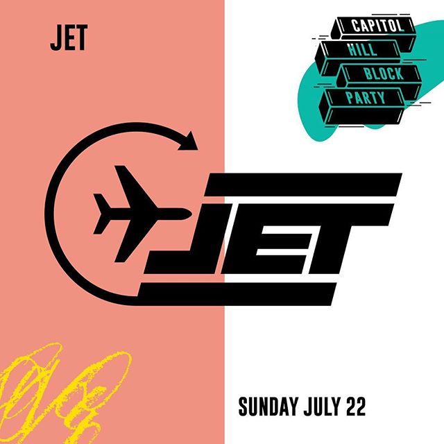Seattle summers keep stacking up! At @capitolhillblockparty with @jetseattle this Sunday at @chophouserow from 4-10pm. If ur on the block come kikkitt - no wristband required