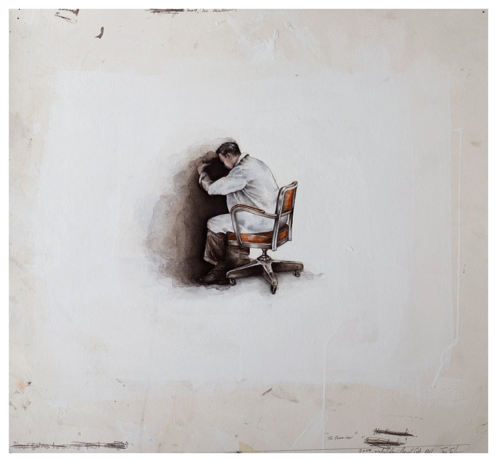 The Metaphor 2010, Mixed Media on Paper. 330 x 430mm