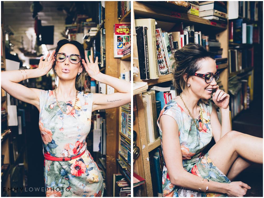 EmmyLowePhotoPleatedEmpireBookStoreSaltLakeCityFashionPhotographer