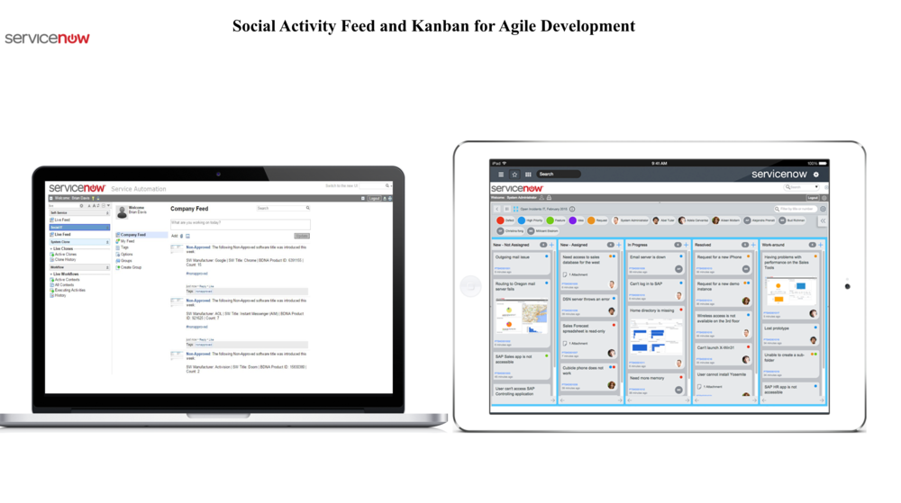 Enterprise 2.0 - Cloud FirstSocial FeedKanban Projects