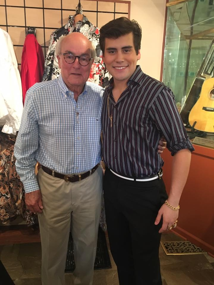 Taylor Rodriguez and Lowell Hays (Jewelry designer for Elvis Presley)