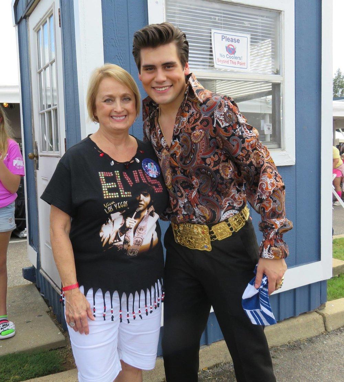 Taylor with Linda Brinson