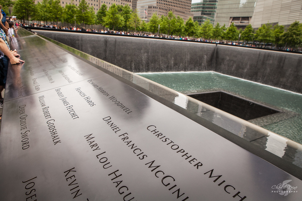 Names of the victims of 911 | Charlie Kaine Photography