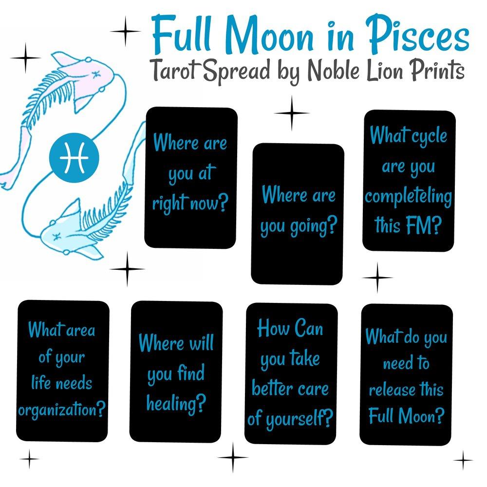 Luna Llena en Piscis FMinPiscesBlue