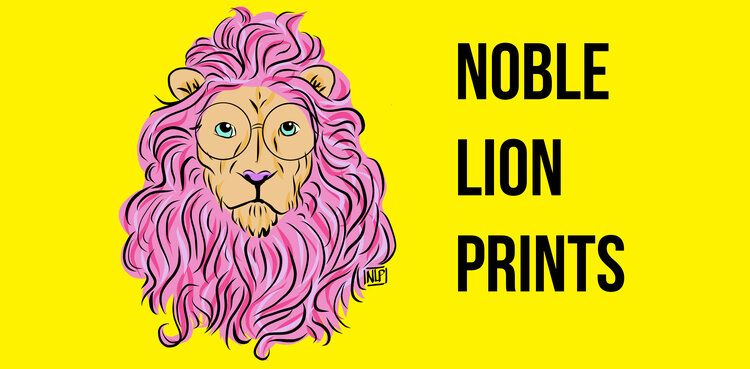 Noble Lion Prints
