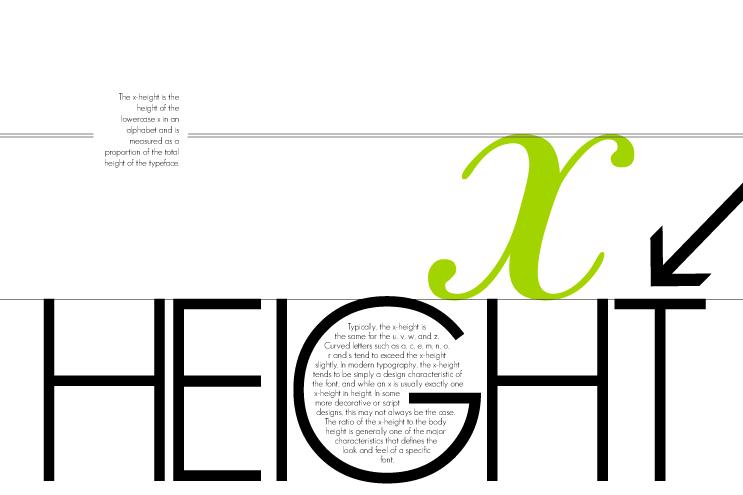 xheight