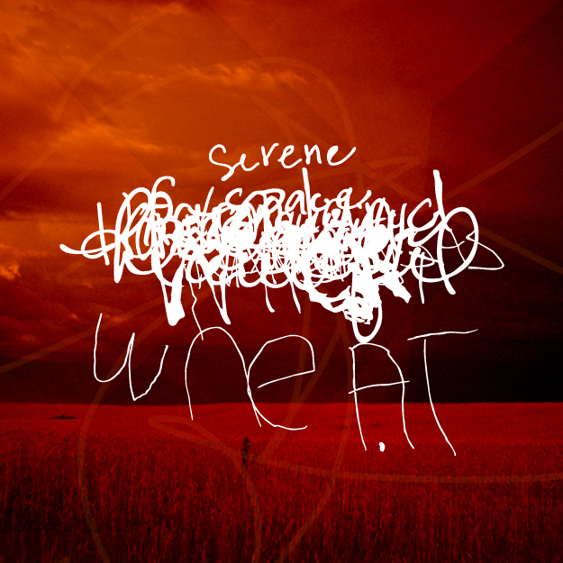 Serene Wheat - Human Typography Experiment