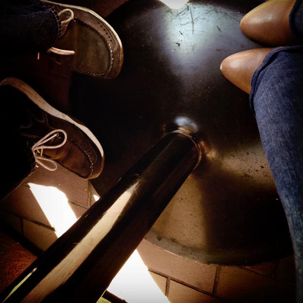 Feet at brunch